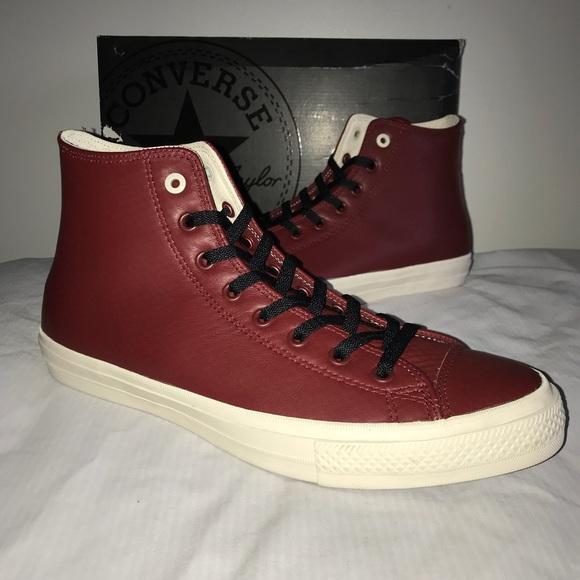 489fd8d8ef39 New Men s Leather Converse Chuck Taylor II